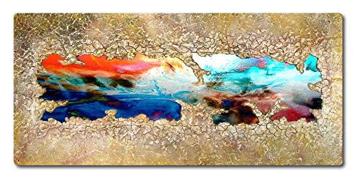 Abstrakte Malerei mit Metall und Struktur ORIGINAL Gemälde HANDGEMALT Acryl Bild zeitgenössische KUNST Objekt moderne Malerei kaufen Unikat