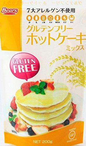 (ケース販売) グルテンフリーホットケーキミックス×10袋