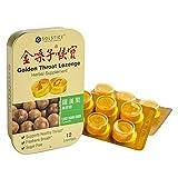 Solstice Medicine - Golden Throat Lozenge - Sugar Free (Luo Han Guo Flavor) - 12 Ct