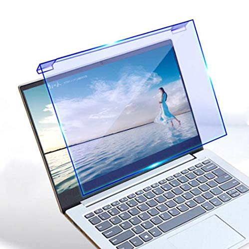 WLWLEO 17 Inch Laptop Screen Protector Film Blue Light Blocking Anti-UV Eye Protection Filter Film Hanging Monitor Screen Protector Free Installation