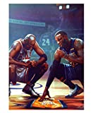 DPFRY Sportler Poster Kobe Bryant Classic Motivations