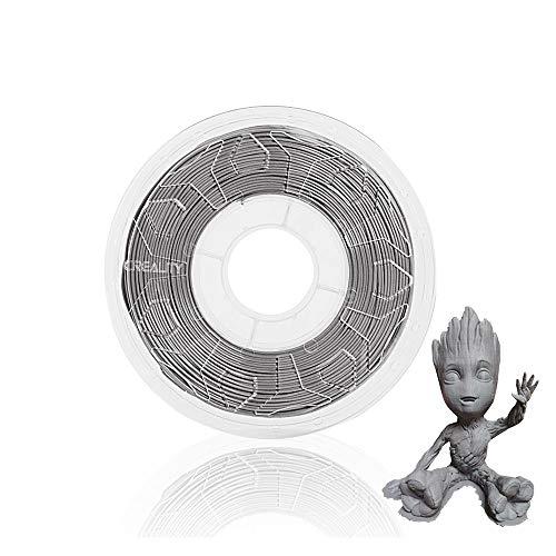 massager 3d printer filament 3D printer filament 1.75mm gray 1KG spool, CR-PLA 3D printing filament dimensional accuracy +/- 0.02mm