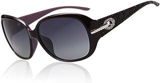 Duco Lunettes teintées classiques grands verres lunettes de soleil polarisées 100% Protection UV 6214