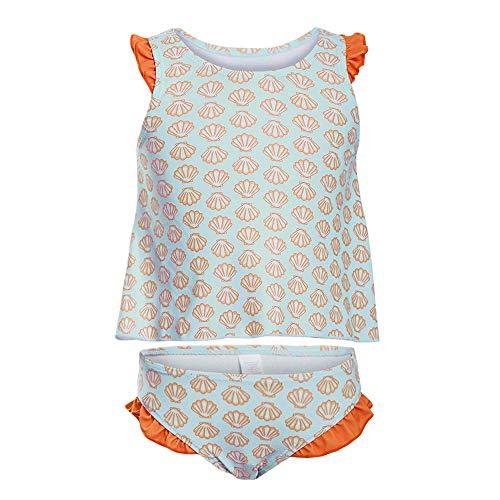 Amadoierly Badeanzug-Set für Kinder Hellblauer Druck Big Boy Swimming Spa Mädchen Badeanzug, XL
