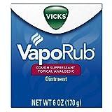 Vick's VapoRub Ointment, 6 oz (2 Pack)