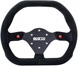 Sparco 015P310F2SN Suede Steering Wheel