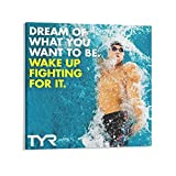 LILITING Fighting for It Poster Michael Phelps