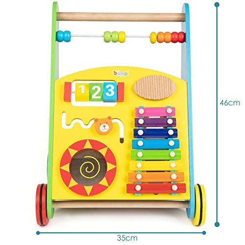 Lauflernwagen für Babys aus Holz von boppi® – Musik - 3