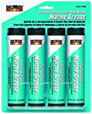 Plews & Edelmann Aqua LubriMatic 11400 Marine Trailer Wheel Bearing and Corrosion Control Grease, 3 oz. Cartridge-4 Pack