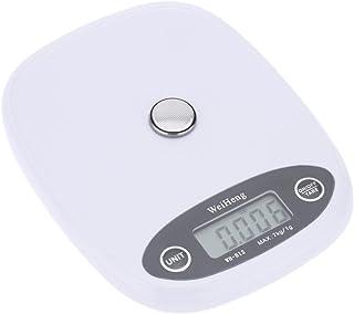 Anself Mini balança eletrônica Digital de bolso profissional escala cozinha escala alimentos pesando ferramenta laranja/br...