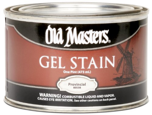 Old Masters 80508 Gel Stain, 1-Pint, Provincial