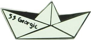 IT Georgie's Boat Unisex Pin Blanco, Metal,