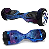 MightySkins Skin Compatible with Hover-1 H1 Hoverboard Scooter - Nebula | Protective, Durable, and Unique Vinyl Decal wrap Cover | Easy...