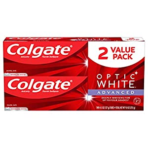 Colgate Optic Whitening Toothpaste Value Pack