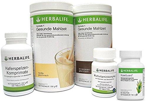 Herbalife Programm zum Abnehmen - 5teilig - 9 Geschmacksrichtungen zur Auswahl