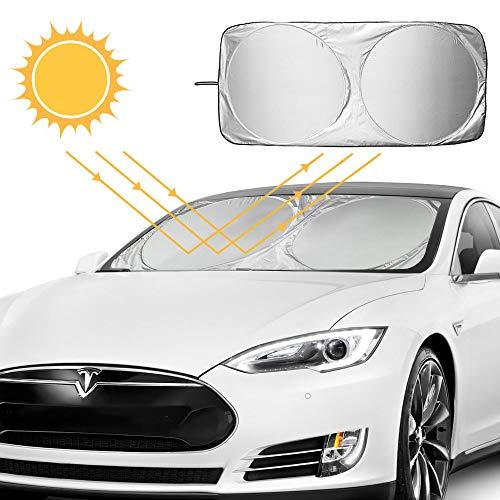 Parasole per parabrezza, AODOOR Parasole per auto per la Parabrezza Anteriore, Evitare i Raggi del Sole, Protettore Contro i Raggi UV, 150x70 cm