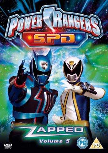 Power Rangers Space Patrol Delta: Zapped - Vol. 5 [Edizione: Paesi Bassi] [Edizione: Regno Unito]