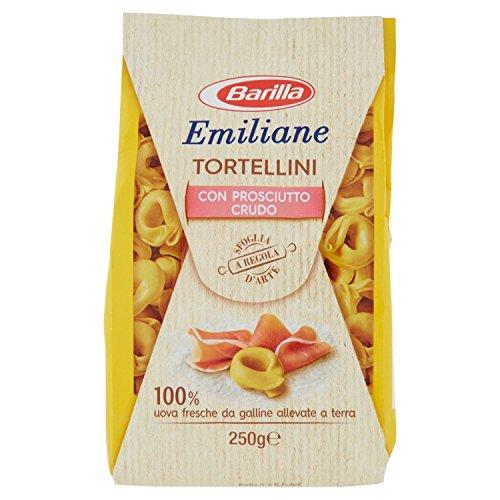 Barilla Pasta all'Uovo Ripiena Le Emiliane Tortellini con Prosciutto Crudo - 250 g
