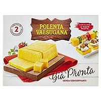 valsugana - polenta pronta, 2 vaschette salvafreschezza - 1200 g