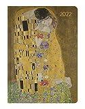 Alpha Edition - Agenda Settimanale Ladytimer 2022, formato tascabile 10,7x15,2 cm, Klimt, 192 pagine