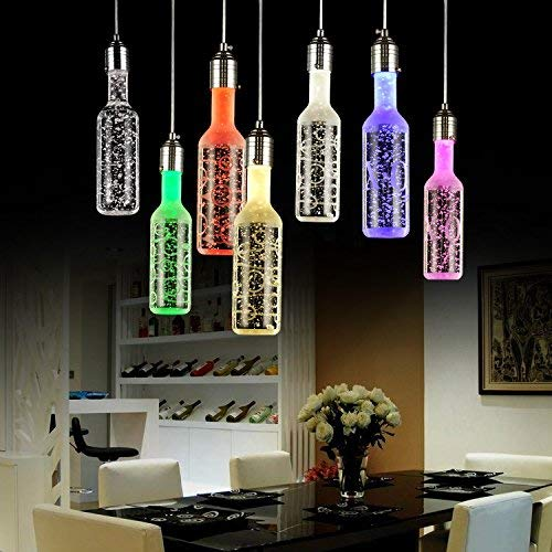 LED Crystal Lamp/LED Fles Kroonluchter/Bar Kroonluchter/Lamp Bubble Kolom Lamp/Restaurant Kroonluchter, Wit, 3 w