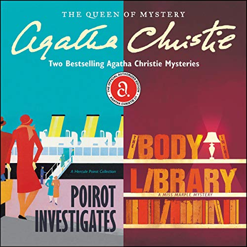 Couverture de Poirot Investigates & The Body in the Library