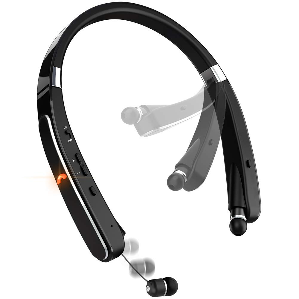Bluetooth Headphones LBell Playtime Retractable Cellphones