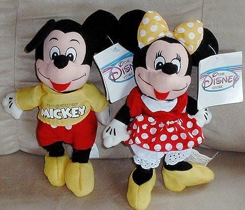 envío rápido en todo el mundo Disney's Spirit of Mickey and Minnie Set, Minnie Comes Comes Comes with amarillo Bow, Traditional Minnie Has rojo Bow. by Disney  primera reputación de los clientes primero