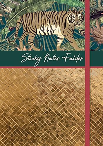 The Gifted Stationery - Juego de carpetas adhesivas y almohadillas forradas, varios tamaños y diseños para oficina y escuela. Perfecto para diario de bala, diario y cuadernos (abundancia)