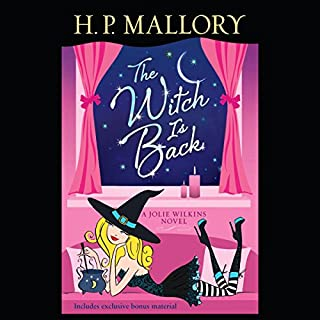 The Witch Is Back     A Jolie Wilkins Novel              By:                                                                                                                                 H. P. Mallory                               Narrated by:                                                                                                                                 Allyson Ryan,                                                                                        Steve West                      Length: 12 hrs and 25 mins     96 ratings     Overall 4.3