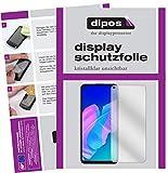 dipos I 2X Schutzfolie klar kompatibel mit Huawei Y7p Folie Bildschirmschutzfolie (bewusst Kleiner als das Glas, da Dieses gewölbt ist)