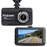 Dashboard Kamera, fosonn Dash Cam HD 1080P 170 ° Weitwinkel Auto Video Recorder mit...