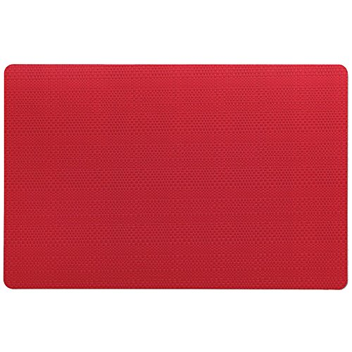 Kela 11634 Calina Set de table Plastique Rouge 43,5 x 28,5 x 1 cm