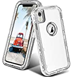ORIbox Case Compatible with iPhone XR Case, Heavy Duty Shockproof Anti-Fall Clear case