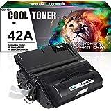 Cool Toner Compatible Toner Cartridge Replacement for HP 42A Q5942A 42X Q5942X Q1338A for HP Laserjet 4200 4240 4250 4300 4350 HP 4250N 4350N 4250TN 4250DTN 4350DTN 4350TN Printer Ink (Black, 1-Pack)