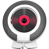 LORIEL Reproductor de música de CD Montaje en Pared   Bluetooth CD Walkman   Adecuado para el Entretenimiento, Aprendizaje, Educación temprana