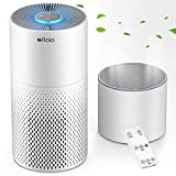 Air Purifier And Humidifier Combo For Home, 22Db  7 Color Night Hepa Air Purifiers With Remote Control, Hepa Filter Air Cleaner Removing 99.99% Smokers Odor And Pollen For Bedroom