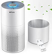 Air Purifier And Humidifier Combo For Home, 22Db| 7 Color Night Hepa Air Purifiers With Remote Control, Hepa Filter Air Cleaner Removing 99.99% Smokers Odor And Pollen For Bedroom
