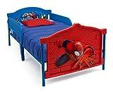 Delta Children Plastic 3D-Footboard Twin Bed, Marvel Spider-Man
