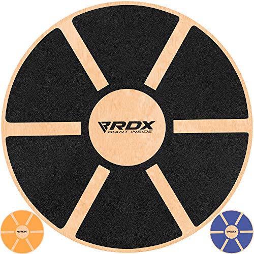 RDX Tabla de Equilibrio 40cm Antideslizante Redondo Balance Board Madera Entrenamiento Physio...