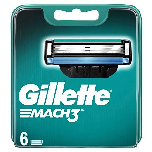 Gillette Mach3 scheermesjes voor mannen, 6 reservemesjes, 35 g