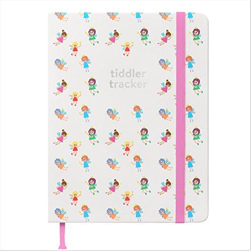 Tiddler tracker - Premiato premiato 'Baby Tracking Journal' Diario giornaliero di dieta, sonno e cambio pannolino | Diario di lusso per bambini | Libro unico delle nascite | Design: Fate
