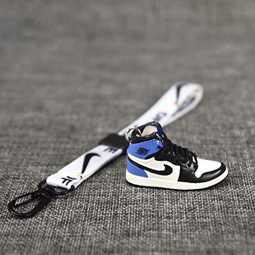 JSLW AJ Sportschuhe Modell kreative Trendige männliche kleine Gänseblümchen Schlüsselbund weibliche niedliche Auto Schuhe Schmuck Tasche Anhänger K