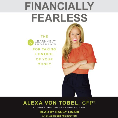 Financially Fearless audiobook cover art