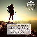 SilverRack Reise Nackenkissen aufblasbar als Nackenhörnchen (schwarz) - Inflatable Flugzeug Kissen für erholsames Reisen - Praktisches Reisekissen für Kinder u Erwachsene für ergonomischem Halt - 7