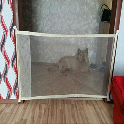 WHZ Dog Pet Fences Now on sale Portable Folding Safety Safe OFFicial shop Door Protection