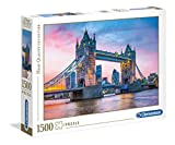 Clementoni- Puzzle 1500 Piezas Tower Bridge Sunset (31816.2)