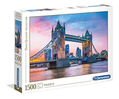 Clementoni Puzzle 1500 pçs - Tower Bridge Sunset - 31816