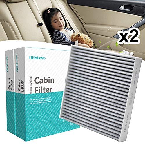El filtro de aire de cabina de polen para autos 2x incluye carbón activado 80292-SDA-A01 80292-SDC-A01 80292-SEC-A01 para Accord Civic Crosstour CR-V CRV Legend Pilot
