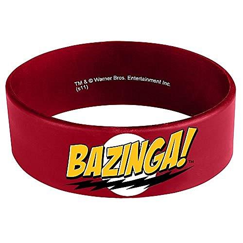 Big Bang Theory Bazinga Rubber Bracelet